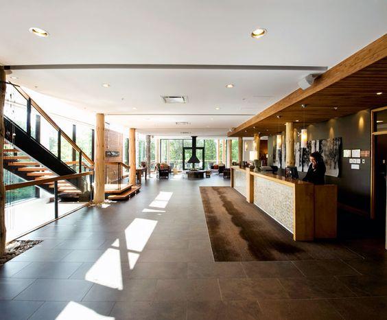 LEMAYMICHAUD | Architecture | Design | Museum | Exhibition | Hospitality | Hotel | Lobby | Reception| Fireplace |