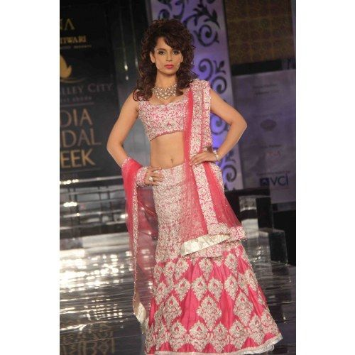 Designer Indian Traditional Ethnic  Bollywood Replica Kangana Ranaut Heavy Bridal Lehenga  - Online Shopping for Lehengas by Ethnictrend