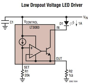 Voltage regulator for linear constant-current (1.5A) LED driver? - Electrical…