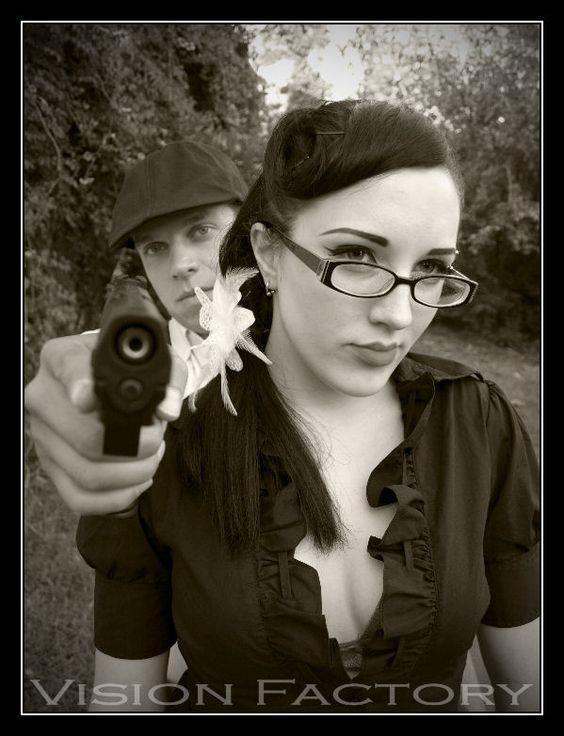 bonnie & clyde shoot