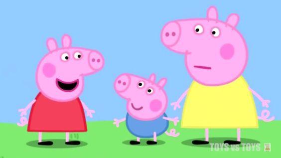 Peppa Pig Muddy Flying a Kite My Cousin Chloe Series 1 Episode 13 14