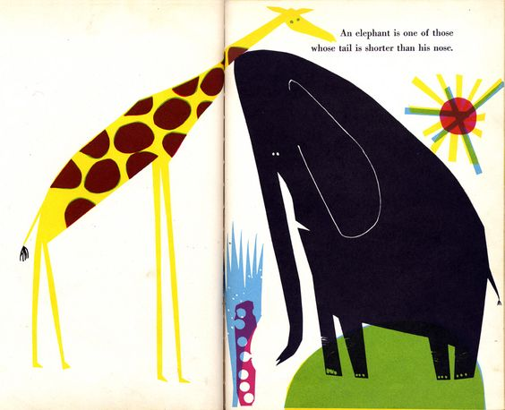 """From """"A Tail is a Tail""""  Written by Katherine Mace, Illustrated by Abner Graboff, 1957."""