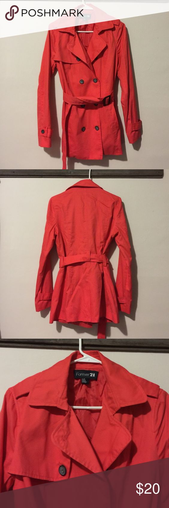 Forever 21 Jacket Large Forever 21 Jacket in excellent condition! Forever 21 Jackets & Coats Pea Coats