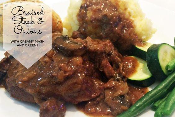 Braised Steak and Onions Recipe