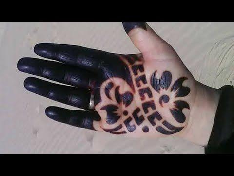 سواد الحنة الصحراوية سر يخلي الحنة حمراء غامق بمكون لا يخطر على البال Hand Henna Paw Print Tattoo Henna