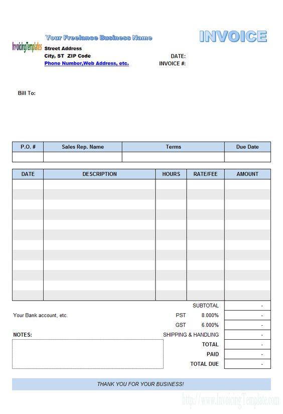 Free Brochure Template - Microsoft Word \ Publisher Templates - create an invoice in microsoft word