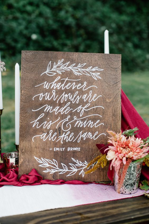 Wood Signs Calligraphy And Signs On Pinterest