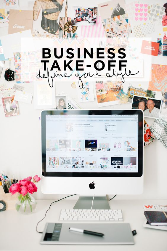 Business Takeoff: Define Your Style   Michelle Edgemont / How to create your brand's visual message