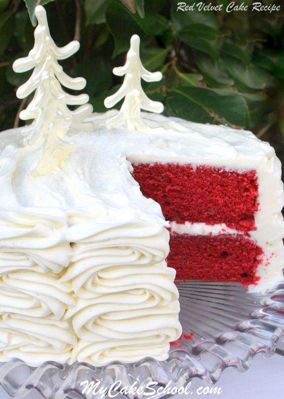 Red Velvet Cake Scratch Cake Recipe Red Velvet