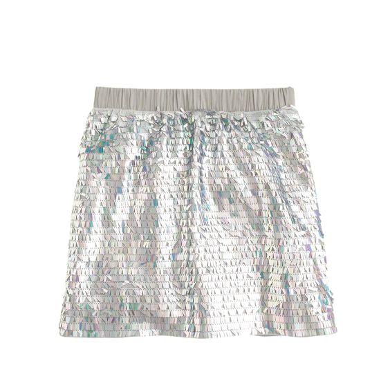 J.Crew girls' mermaid sequin skirt in light dusk. | Girls ...