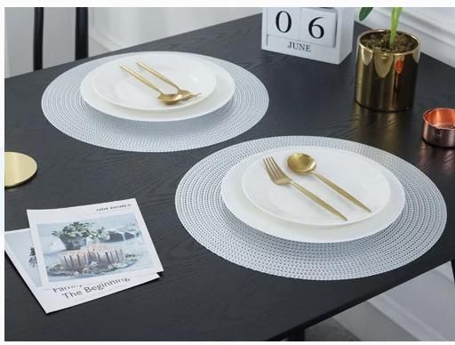 Round Placemat For Dining Table Unique Placemats Dining Table Decor Dining Table Sale