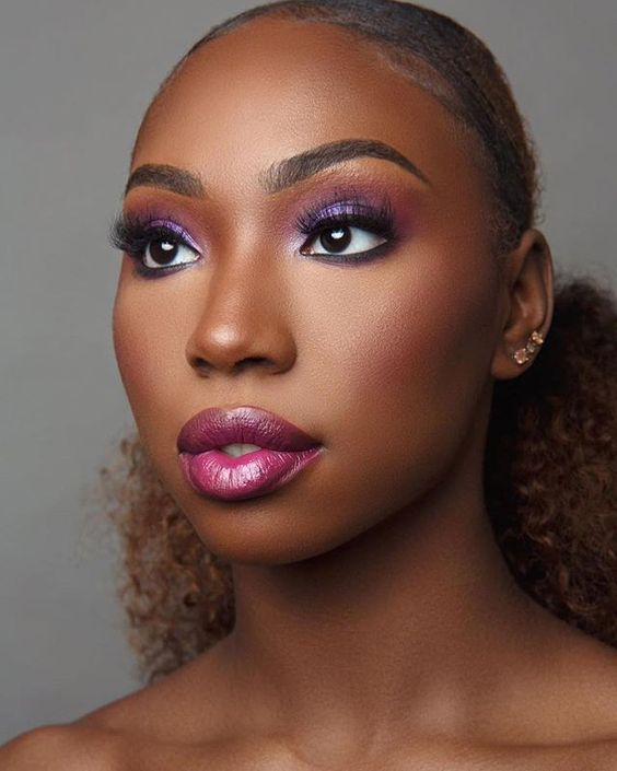 2019/2020 Mind Blowing Makeup Looks for Black Women