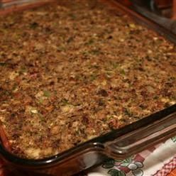 Herbs And Spices, Sausage Bacon Apple And Cornbread Stuffing, A Winner ...