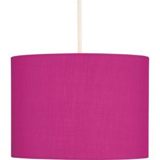 buy colour match fabric light shade funky fuchsia at. Black Bedroom Furniture Sets. Home Design Ideas