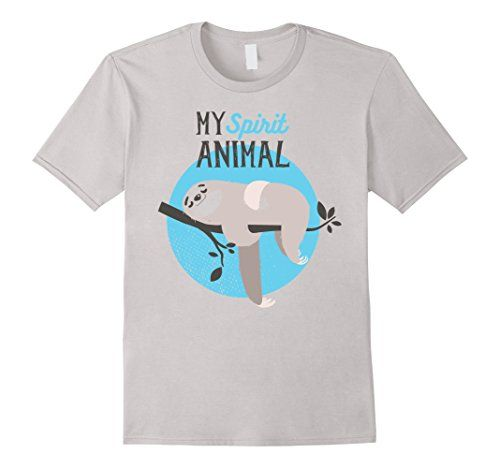 Men's Humorous Funny My Spirit Animal Funny Graphic Sloth... https://www.amazon.com/dp/B01MQ1A5BX/ref=cm_sw_r_pi_dp_x_a7gmybNV6BK9T