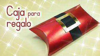 Manualidades: CAJA para REGALO reciclando un rollo de papel higiénico - Innova Manualidades - YouTube