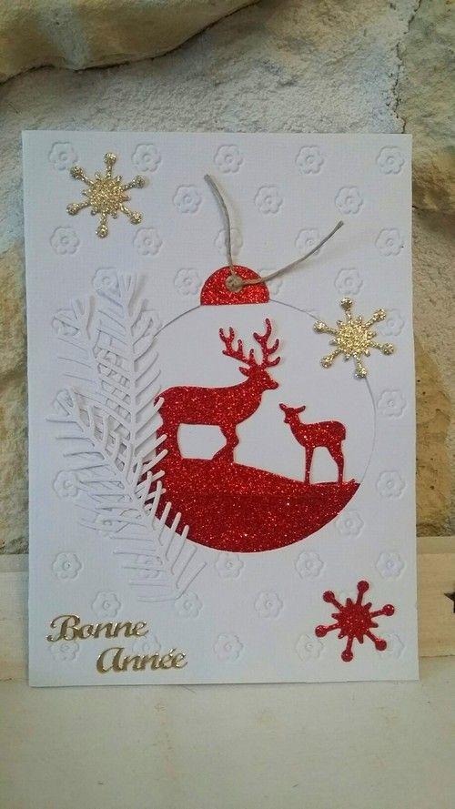 Cartes De Noel En Scrap Carte Noel Carte De Voeux Noel Et Noel