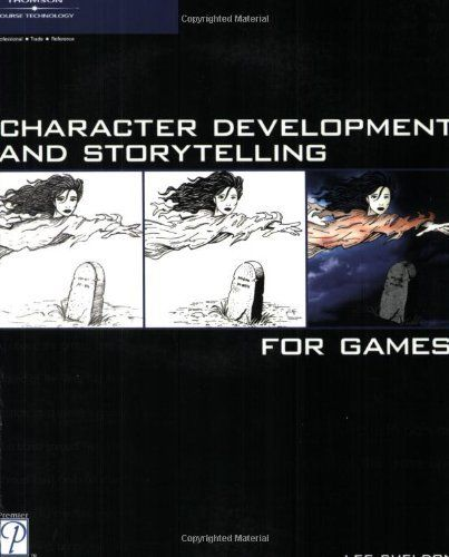 Character Development and Storytelling for Games (Game Development Series) by Lee Sheldon, http://www.amazon.com/dp/1592003532/ref=cm_sw_r_pi_dp_9Necqb0VJ1DX4