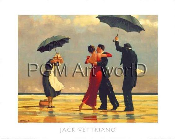 Jack Vettriano - The Singing Butler - jetzt bestellen auf kunst-fuer-alle.de