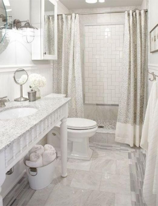 Great Shower Curtain Instead Of Shower Door Design Ideas Remodel