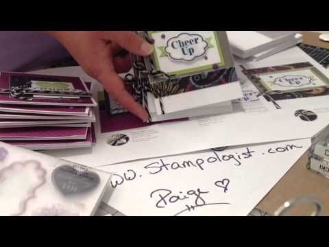 Video showing the NEW Laughing Lola Card Kit!  I'll show you WHY these kits are such a great value! www.Stampologist.com Order your kit on August 1st at www.Paige.CTMH.com!