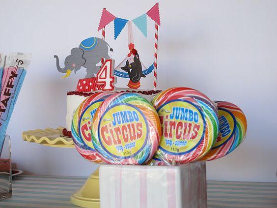A circus party!