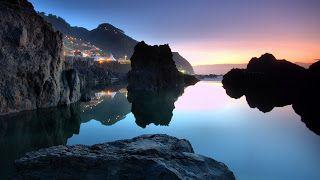 افضل خلفيات للكمبيوتر ويندوز 10 Best Wallpapers Windows Madeira Island Scenic Scenery