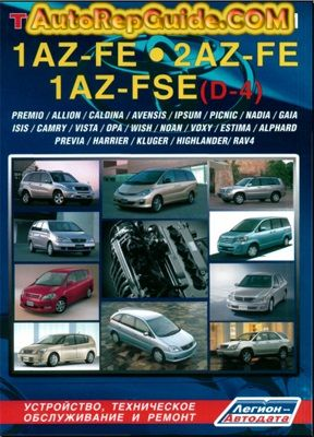 Download Free Toyota 1az Fe 2az Fe 1az Fse Repair Manual Maintenance And Operation Of Engines Image By Autorepguid Repair Manuals Toyota Toyota Avensis