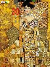 Gustav Klimt - Adele Bloch Bauer I a86305 30x40cm exzellentes Ölbild handgemalt