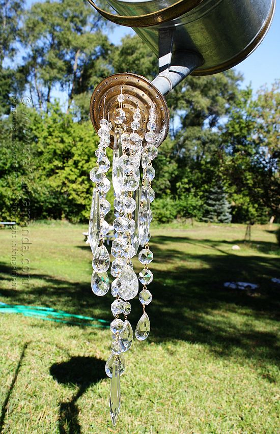 A Watering Can That Pours Crystals - Crafts by Amanda: