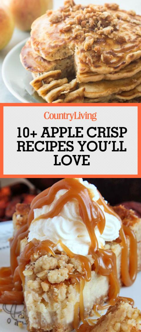 ... desserts apple recipes recipe country living apple crisp treats