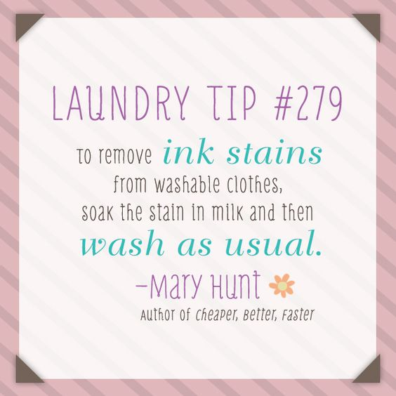 How To Get Ink Stains Off Clothes Cheaperbetterfaster