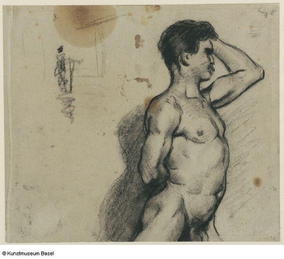 Cezanne, Aktstudie, Kunstmuseum Basel