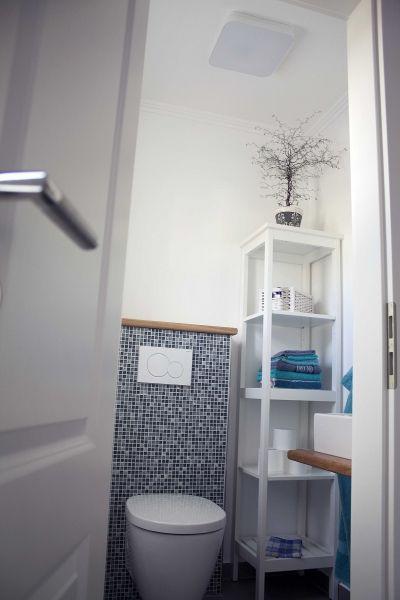 badezimmer weiß blau ~ innenarchitektur und möbelideen, Hause ideen
