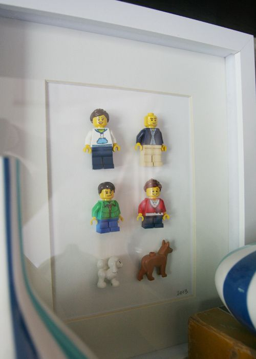 Doesn't everyone need a LEGO family portrait?