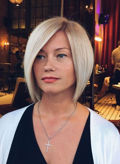 50 Hairstyles For Thin Hair Over 40 With Short Bob Haircut Ms Full Hair Thin Hair Haircuts Short Bob Hairstyles Bobs For Thin Hair