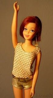 vintage Casey barbie-loved her!!  I had this doll...my Daddy bought her for me.  I totally loved her swingy haircut and dangling earring!