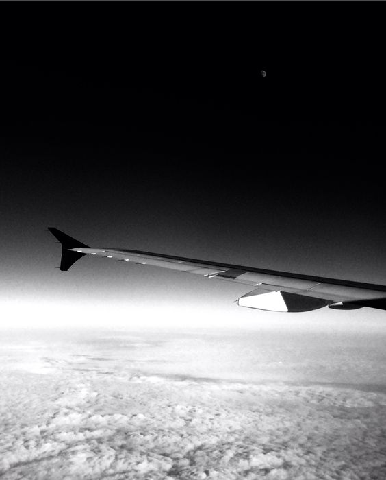 Empty space over the cold north.