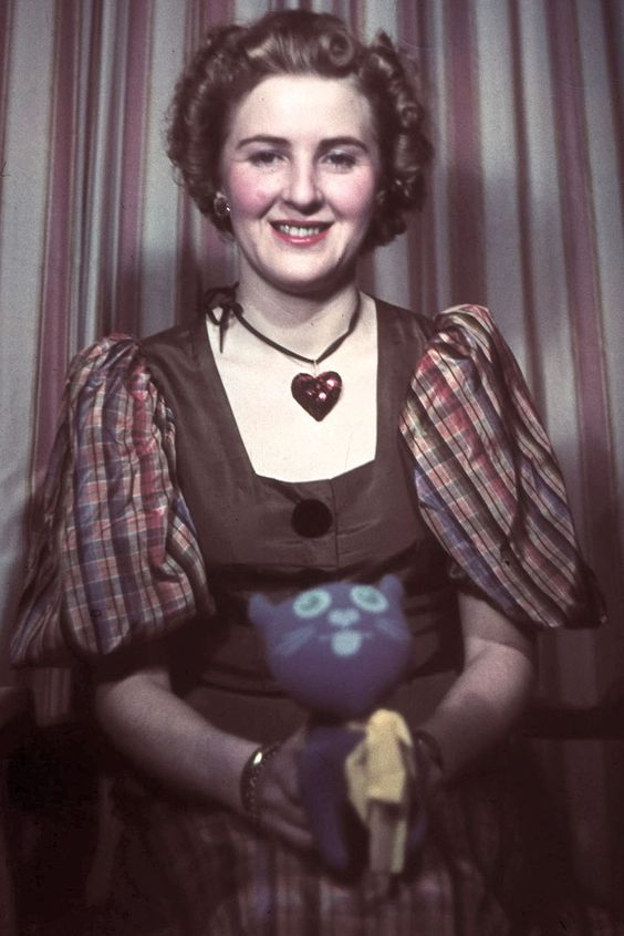 Eva Braun ... Hitler's longtime companion