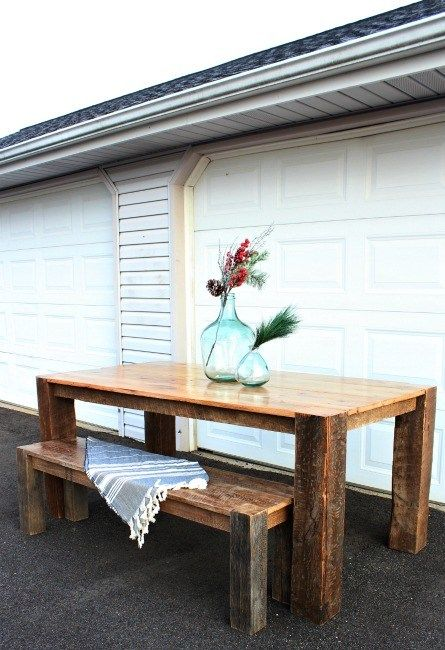 Diy Barn Wood Table From Tobacco Barn To Dining Table Dining