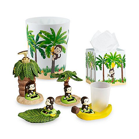motion monkey bathroom set | bill's bathroom | pinterest