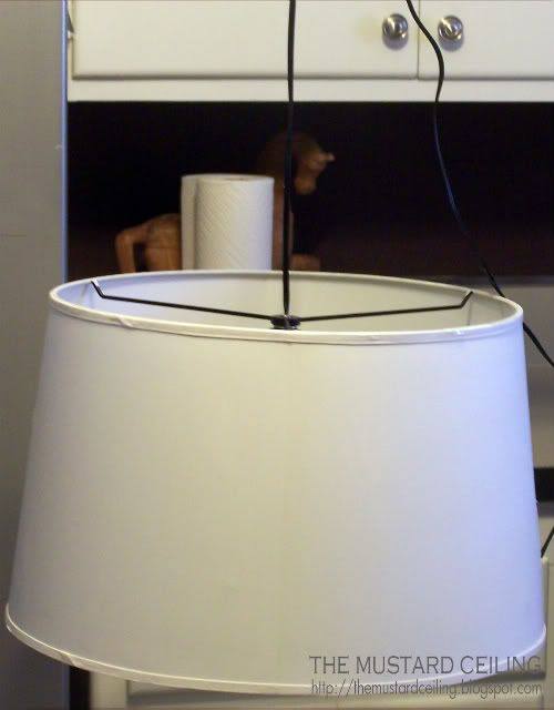 Make Your Own Drum Shade Pendant Light Guest Room Pinterest Diy Pendant
