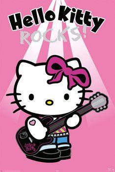 rocker kitty | Tarjeta electrónica HELLO KITTY - rock