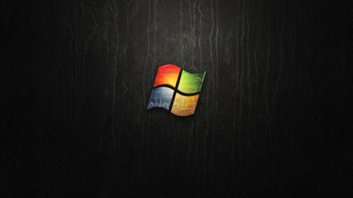 Black Windows 7 Hd Wallpaper Windows Wallpaper Black Desktop Background Microsoft Windows
