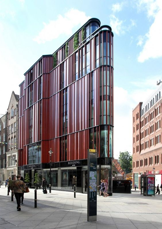 South Molton Street Building por DSDHA. Modern flatiron