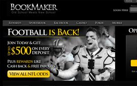 BookMaker Football Bonus