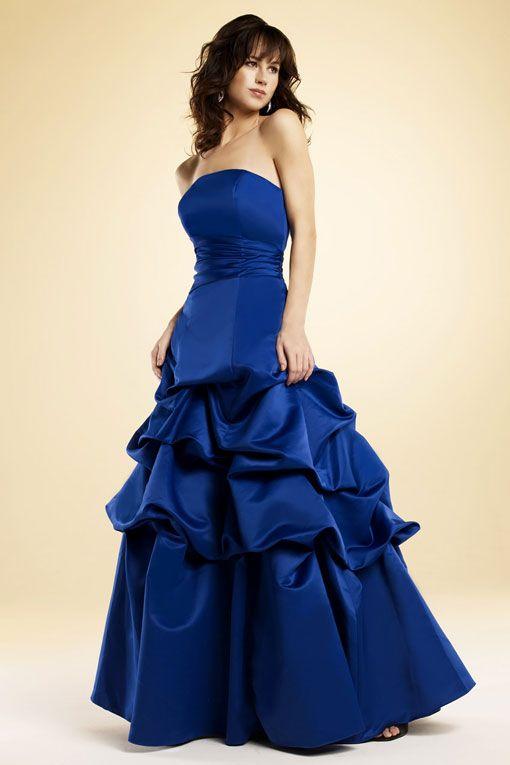 Gorgeous sleeveless ball gown bridesmaid dress