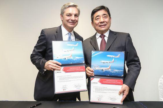 É MAIS QUE VOAR: SINGAPORE AIR SHOW 2016 – Okay Airways anuncia compromissos para doze 737