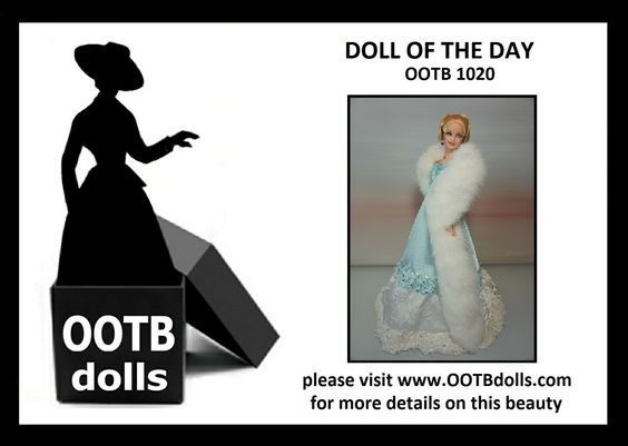 "06.20.14 - Guess what theme the upcoming NBDCC Nashville is? ""Everyday is a Holiday"", and this doll OOTB 1020 that we are previewing today is definitely in time to bring winter to the convention with her fabulous fur! Enjoy!  Please visit our website for more details on this beauty! www.OOTBdolls.com"