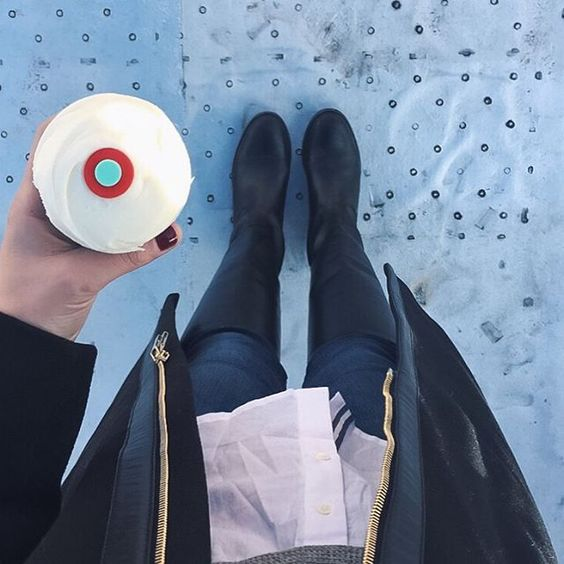 Frye melissa tall boots // Sprinkles cupcake